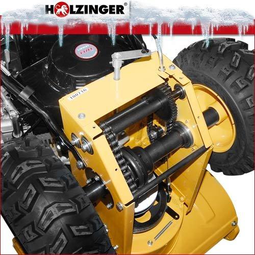 Holzinger Benzin-Schneefräse HSF-110(LE)