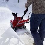Wie stark muss eine Schneefräse sein?
